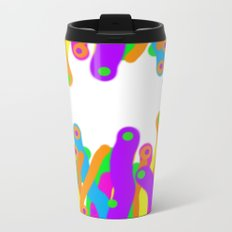 I love to paint! Metal Travel Mug