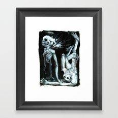 Shivers Framed Art Print