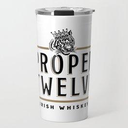 Proper Twelve Irish Whiskey Logo Travel Mug