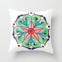 Bursting with Spring Throw Pillow