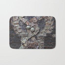 Mosaic Wall Art Bath Mat
