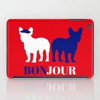 bonjour iPad Cases featuring Bonjour by Laura Maria Designs