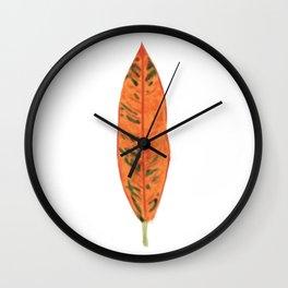 Falling for Petra Wall Clock