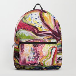 Floral Eros Magical Ecstatic Painting Backpack