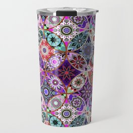 Moroccan bazaar | purple Travel Mug
