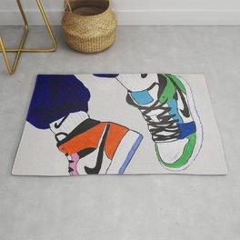 Sneaker Colorful Air Jordan 1's Rug