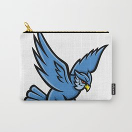 Horned Owl Swooping Mascot Carry-All Pouch