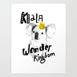Koala Fun  Art Print