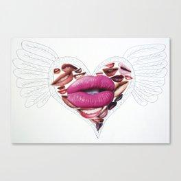 Kiss Kiss Canvas Print