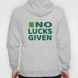 No Lucks Given - Funny Lucky Irish product Hoody