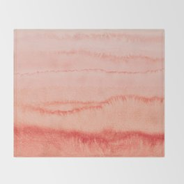 WITHIN THE TIDES - BLOOMING DAHLIA Throw Blanket