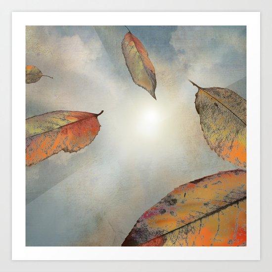 As You Fall Art Print