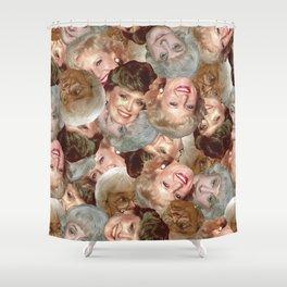 Golden Girls Toss Shower Curtain