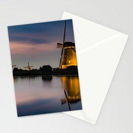 Dutch Wind Mills Stationery Cards