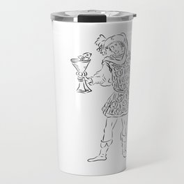 PAGE OF CUPS LOVER Travel Mug