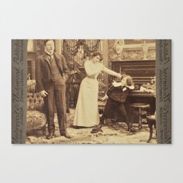 Victorian Stereogram Canvas Print