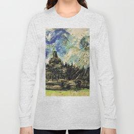 Borobudur Temple Long Sleeve T-shirt