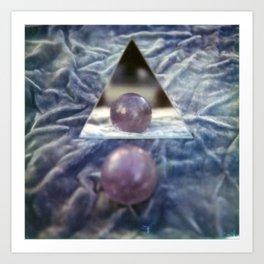 Crystal balls, Velvet, and Mirrors Art Print
