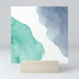 Watercolor Drops Mini Art Print