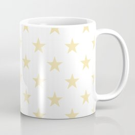 Stars (Vanilla/White) Coffee Mug