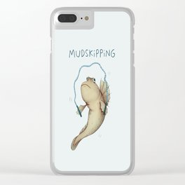 Mudskipping Clear iPhone Case