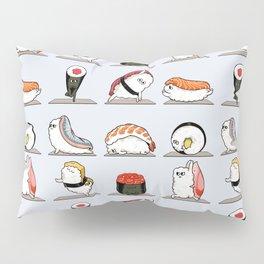 Sushi Yoga Pillow Sham