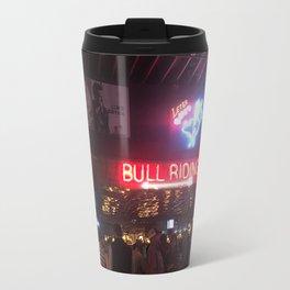 Bull Riding Travel Mug
