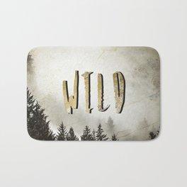 Wild Gold Forest Bath Mat