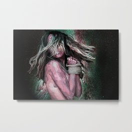 Desperate Desires Metal Print