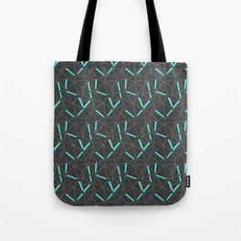 Aqua Prisma Tote Bag