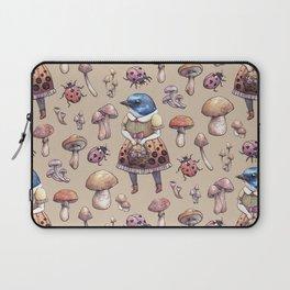 Mushroom Pickers - Lady Blue Laptop Sleeve