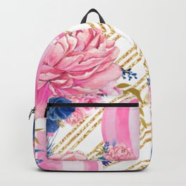 Floral HotAir Balloons Backpack
