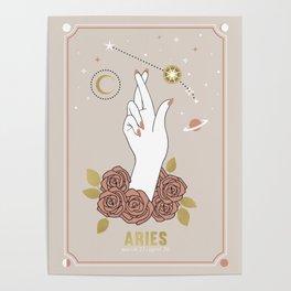 Aries Zodiac Series Poster