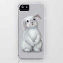 White Rabbit Boy iPhone Case