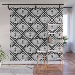 iDeal - B&W Psychedelic Wall Mural