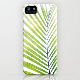 Palm Leaf #3 iPhone Case