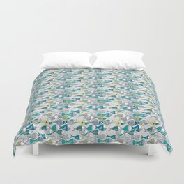 go fishing then! Duvet Cover