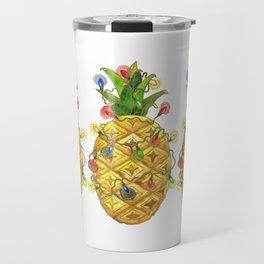 The Christmas Pineapple Travel Mug
