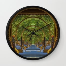 Eight Gates Wall Clock
