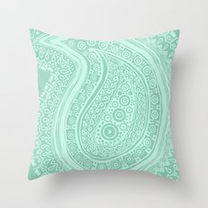 C13 paisley pattern Throw Pillow
