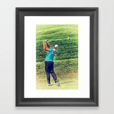The Golf Swing Framed Art Print