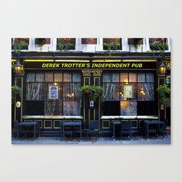 The Derek Trotter Canvas Print
