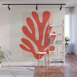 Jazz Leaf: Matisse Edition   Mid Century Series Wall Mural