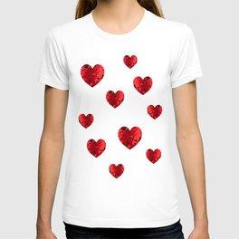 Hearty heart hearts T-shirt