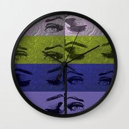Beauty or die Wall Clock