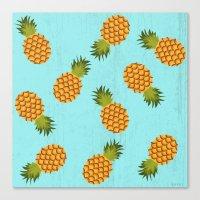hawaii Canvas Prints featuring Hawaii by Kakel