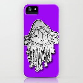 Drippy Teeth Eye! iPhone Case