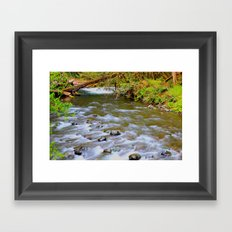 Let it Flow Framed Art Print