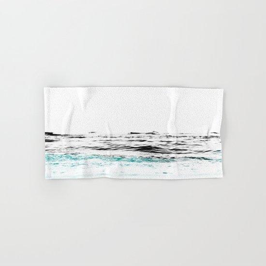 Minimalist ocean waves Hand & Bath Towel
