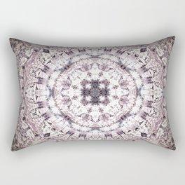 MAUVE MANDALA Rectangular Pillow